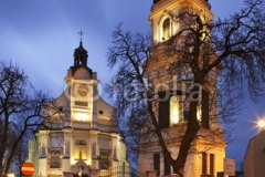 St. Bartholomew's Church in Plock. Poland
