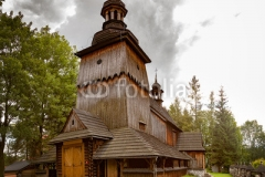 Old wooden church near Zakopane on Gubalowka, Poland.