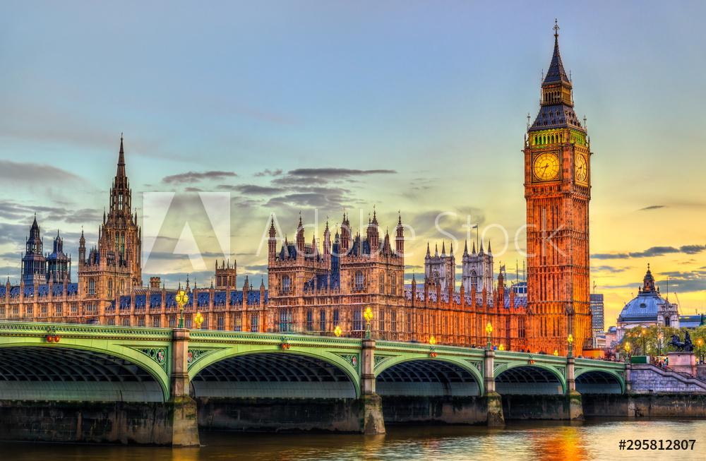 big ben londyn obraz