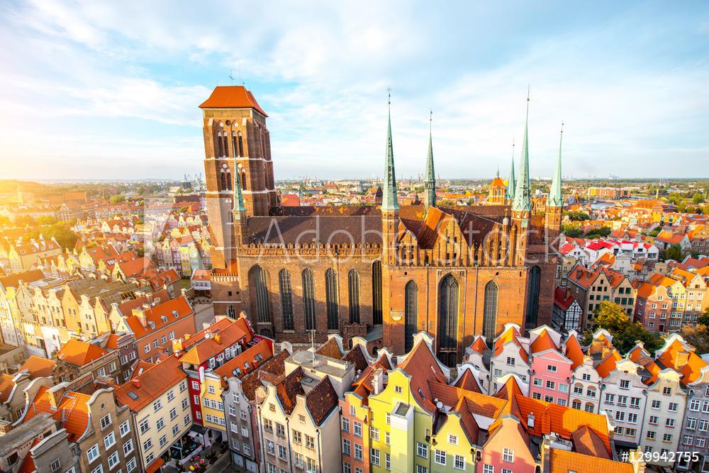 Gdańsk obraz na płótnie