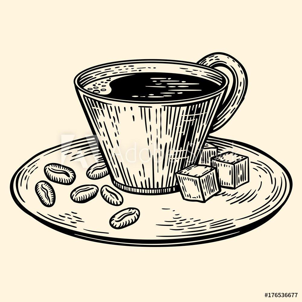 Szkic: Kawa